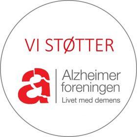 Støttelogo Alzheimerforeningen